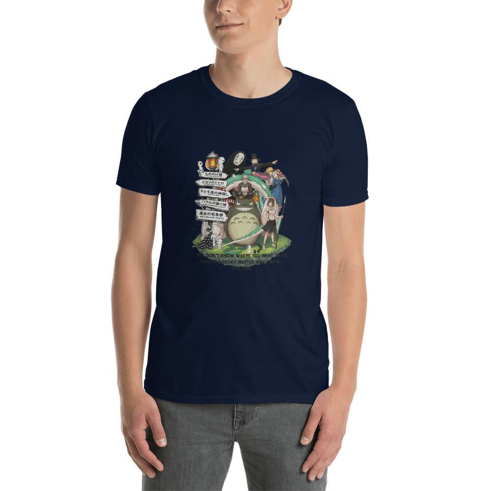 Studio Ghibli Hayao Miyazaki With His Arts T Shirt Unisex