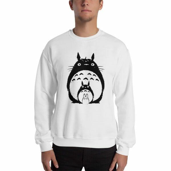 My Neighbor Totoro Black & White Hoodie Unisex
