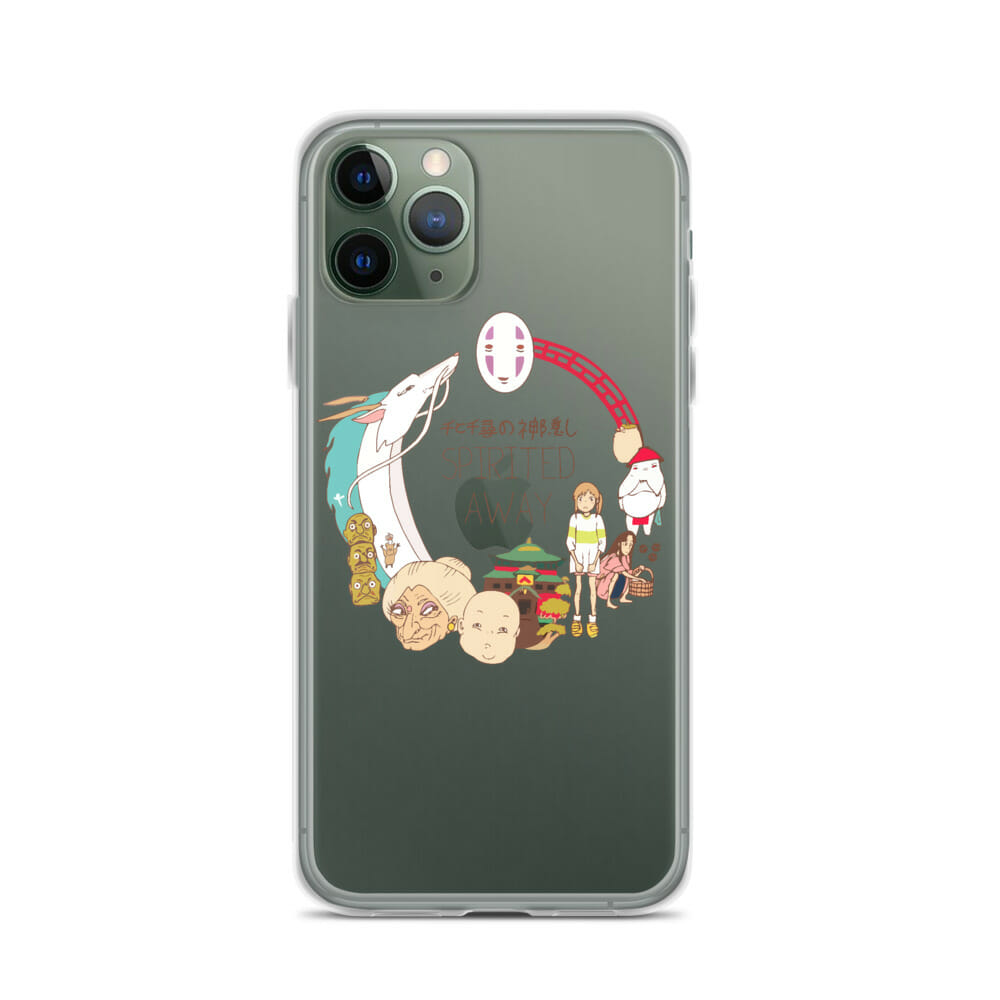Spirited Away Compilation Characters iPhone Case