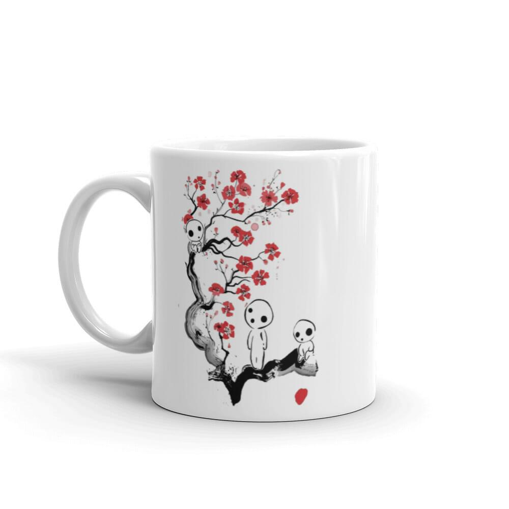 Princess Mononoke – Tree Spirits on the Cherry Blossom Coffee Mug