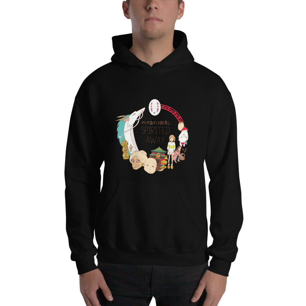 Spirited Away Compilation Characters Hoodie Unisex