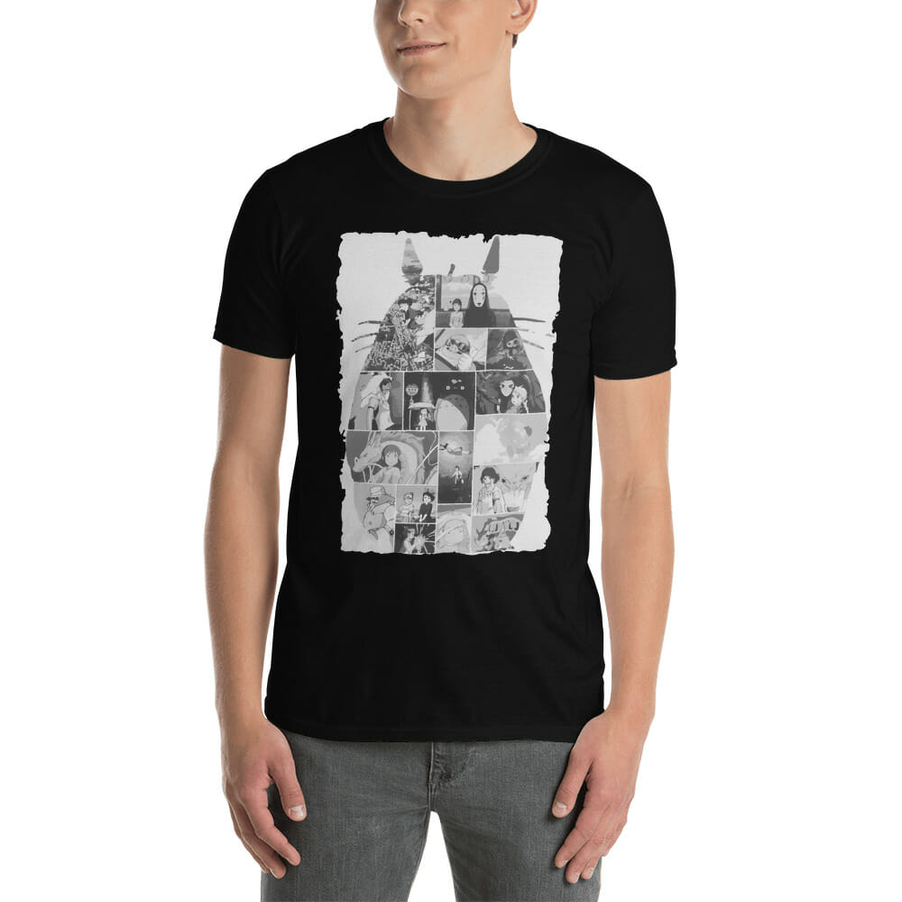 Ghibli Studio Collage Art T Shirt Unisex