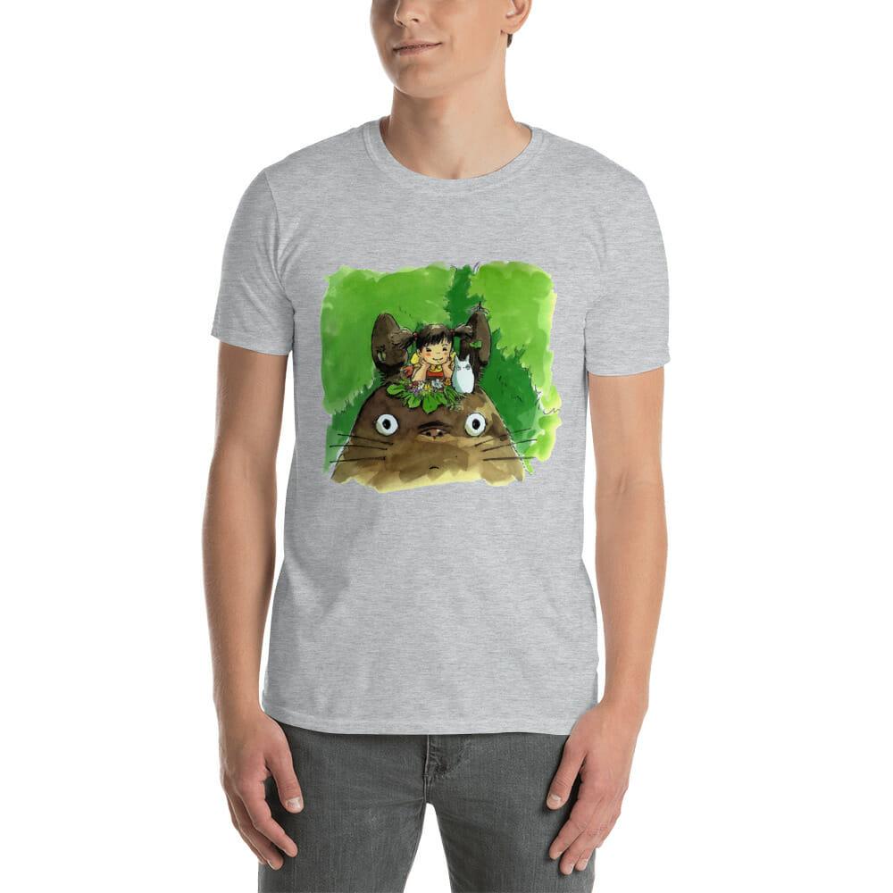 My Neighbor Totoro & Mei Water Color Art T Shirt