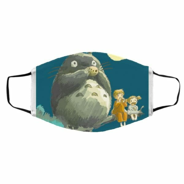 My Neighbor Totoro By The Moon Face Mask