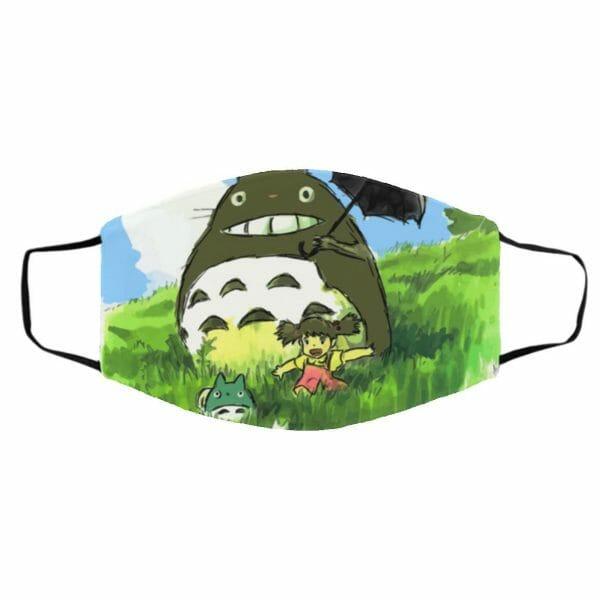 My Neighbor Totoro WaterColor Face Mask
