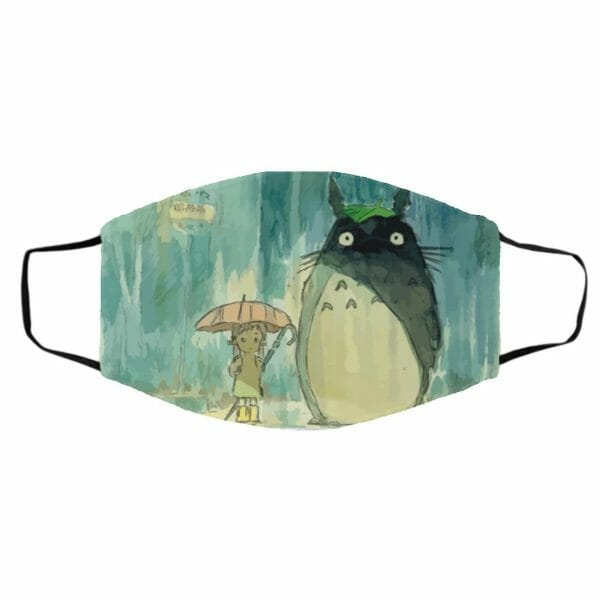 My Neighbor Totoro Original Poster Face Mask