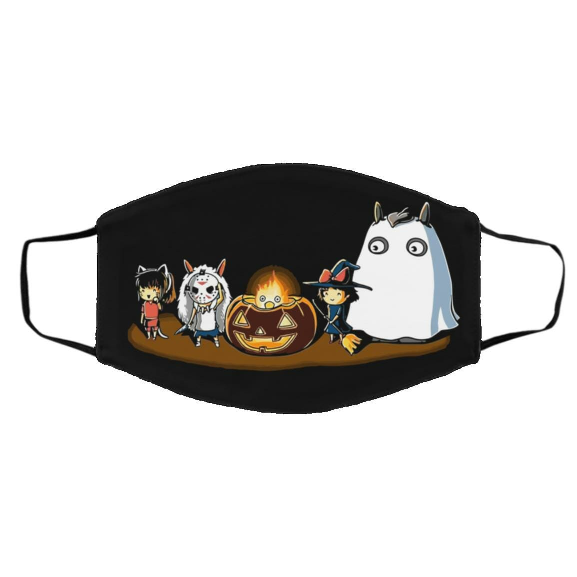Ghibli Studio – Halloween Funny Party Face Mask