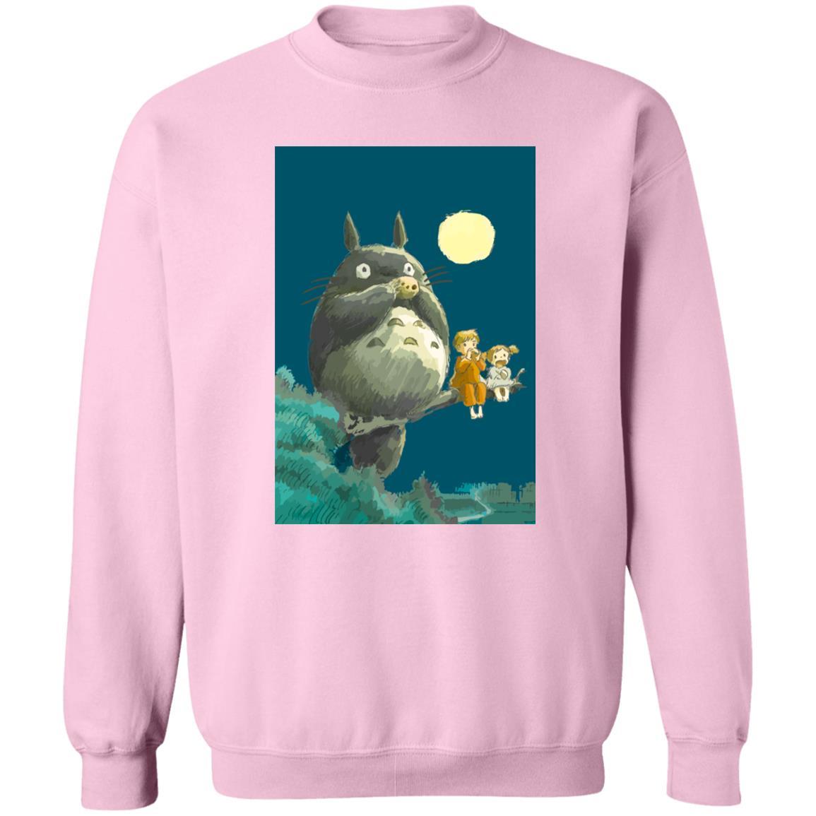 My Neighbor Totoro by the moon Sweatshirt Unisex