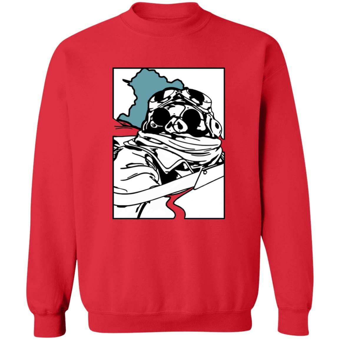 Porco Rosso Poster Sweatshirt Unisex