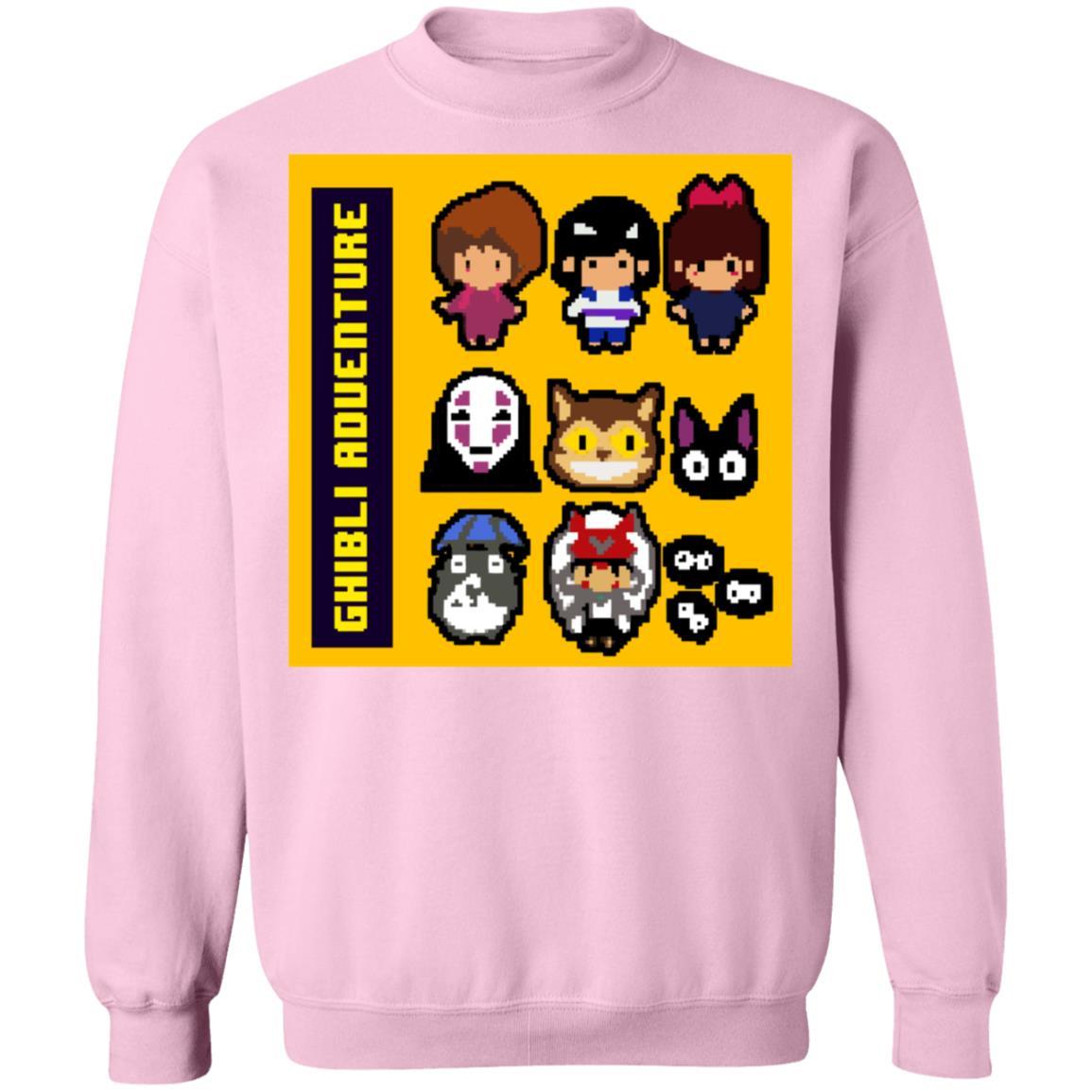 8 BIT Ghibli Adventures Sweatshirt Unisex