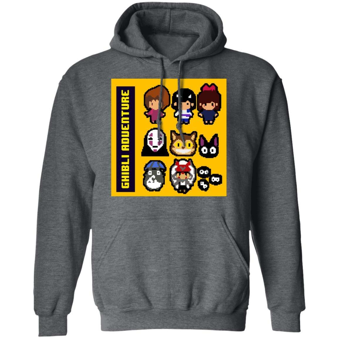 8 BIT Ghibli Adventures Hoodie Unisex