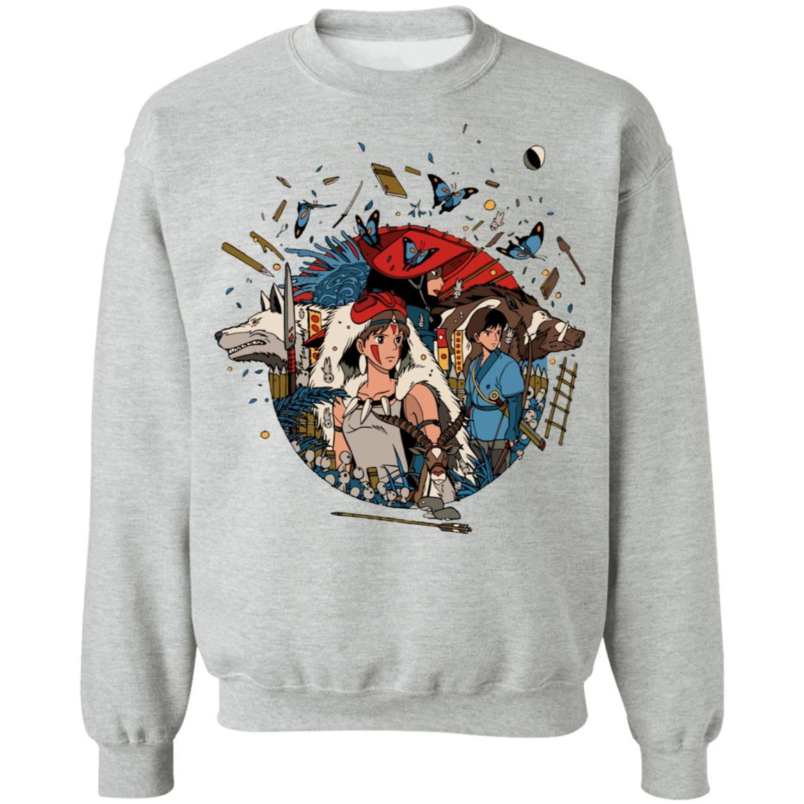 Princess Mononoke Kokyo Sweatshirt Unisex
