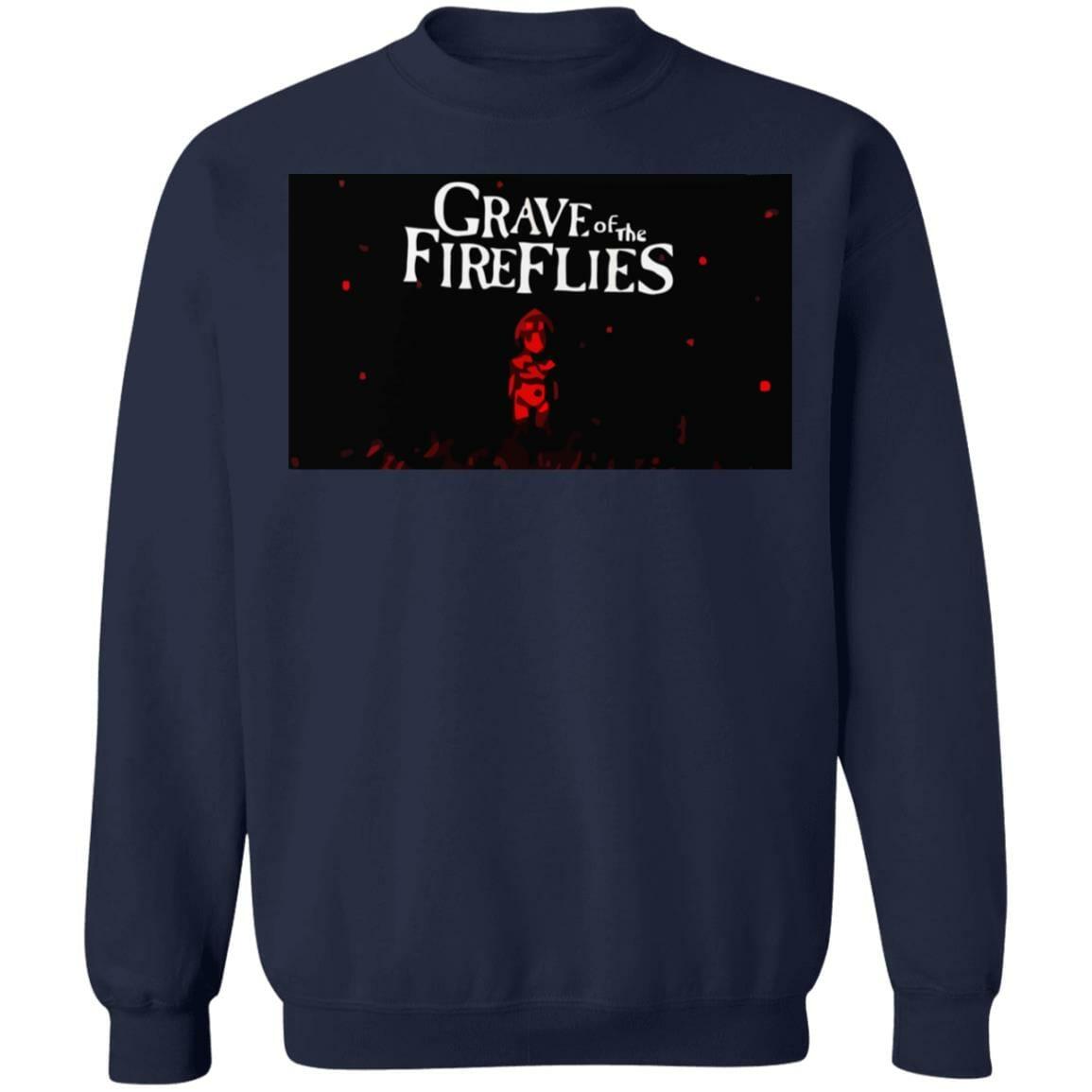 Grave of The Fireflies Poster Sweatshirt Unisex