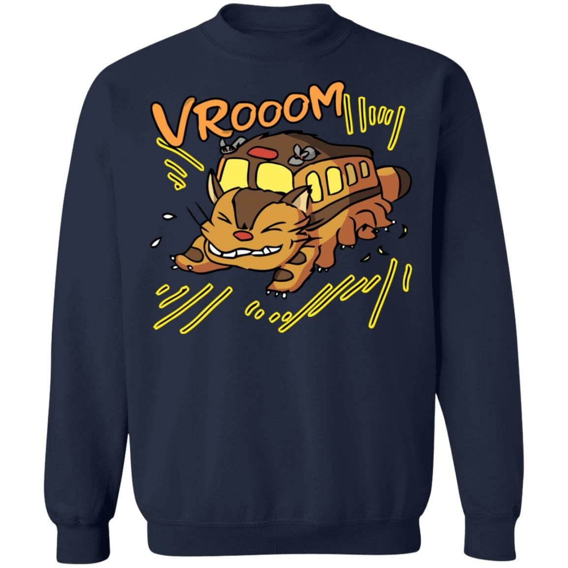 My Neighbor Totoro – Cat Bus Sweatshirt Unisex