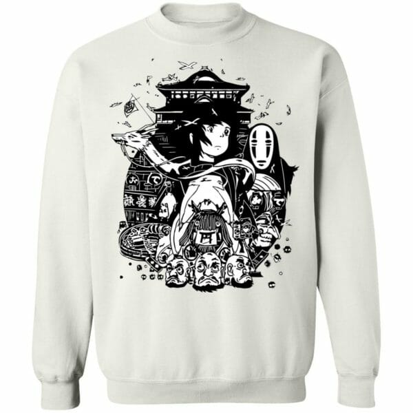 Spirited Away Art Collection Sweatshirt Unisex