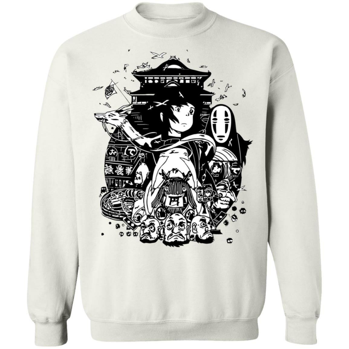 Spirited Away Art Collection Sweatshirt Unisex