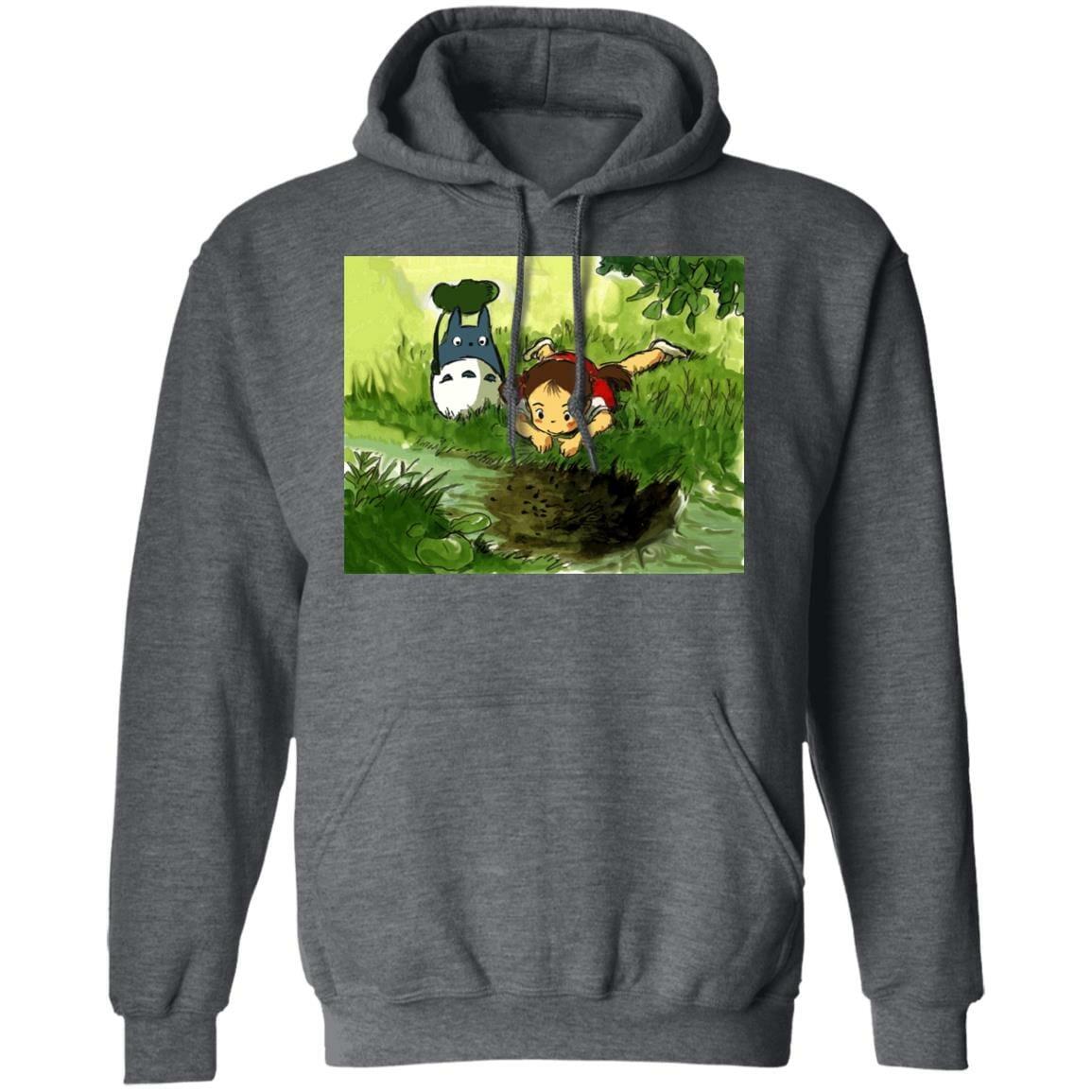My Neighbor Totoro – Playing Mei Hoodie Unisex