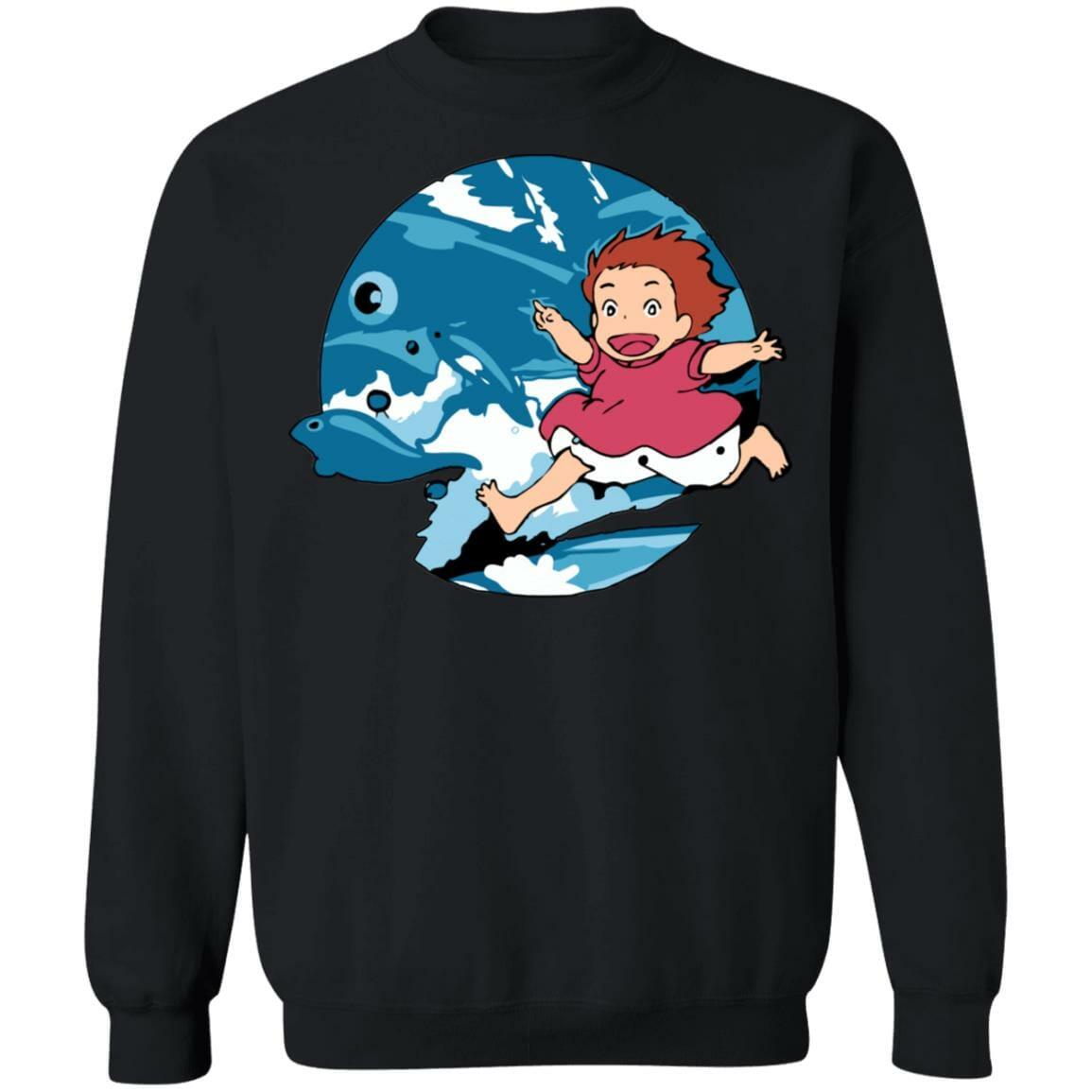 Ghibli Studio Ponyo On The Waves Sweatshirt Unisex
