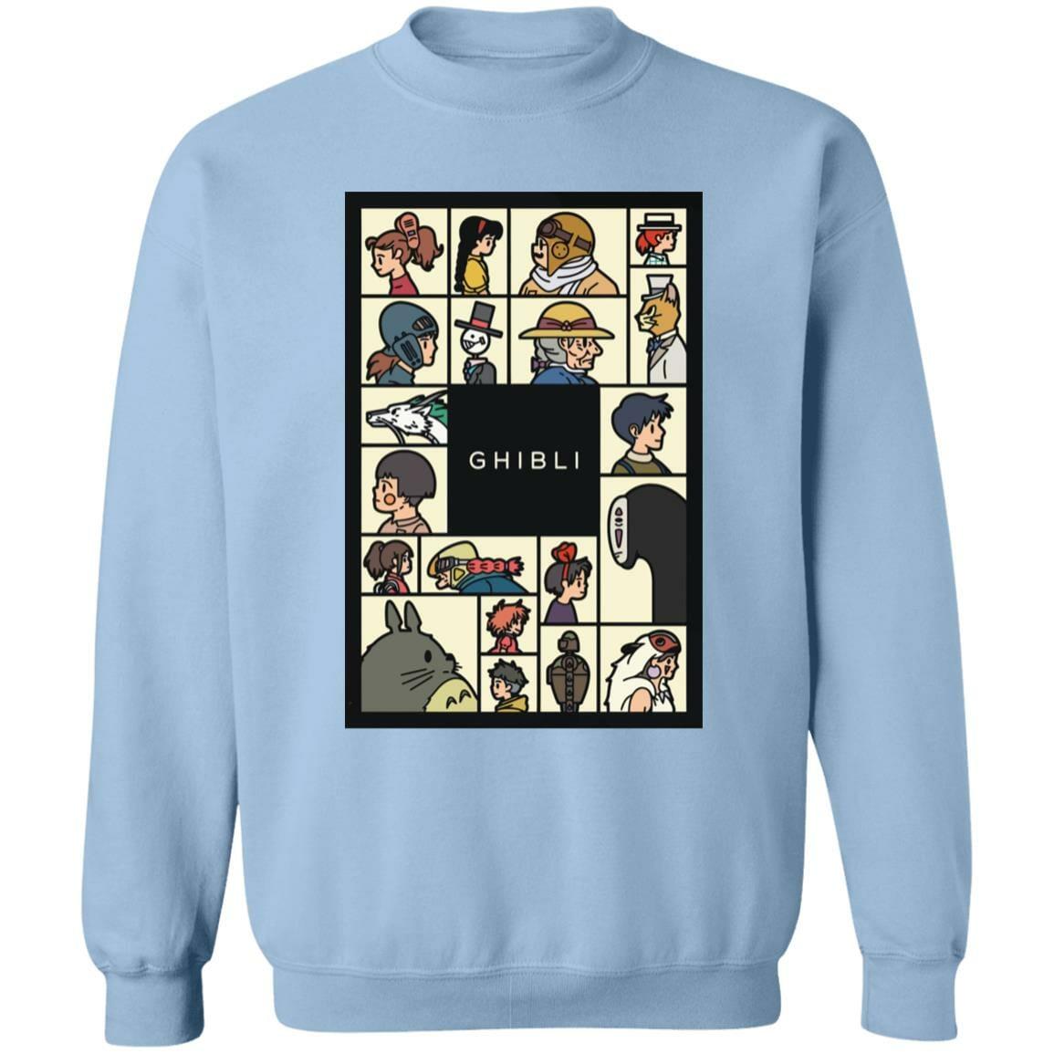 Compilation Characters of Studio Ghibli Sweatshirt Unisex