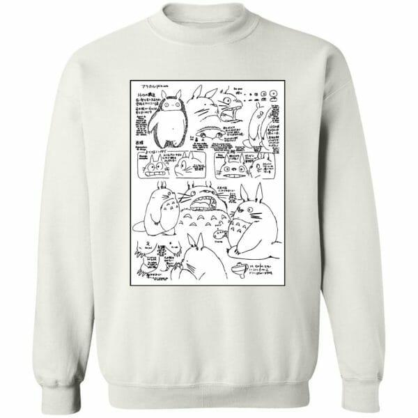 Totoro Original Character Sketch Hoodie Unisex