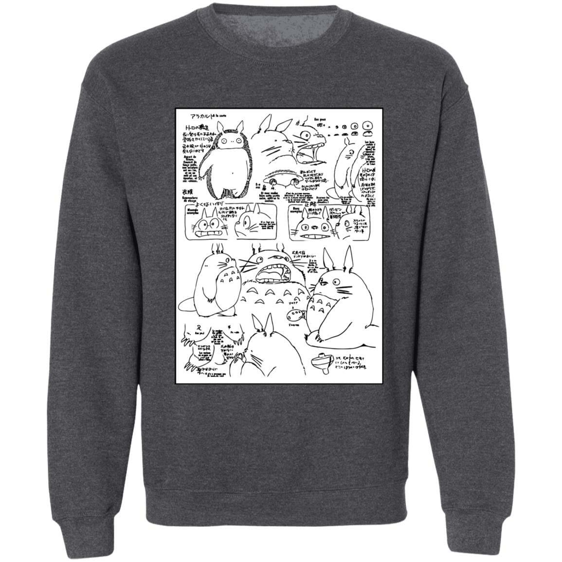 Totoro Original Character Sketch Sweatshirt Unisex