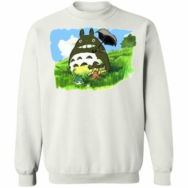 My Neighbor Totoro WaterColor Hoodie Unisex