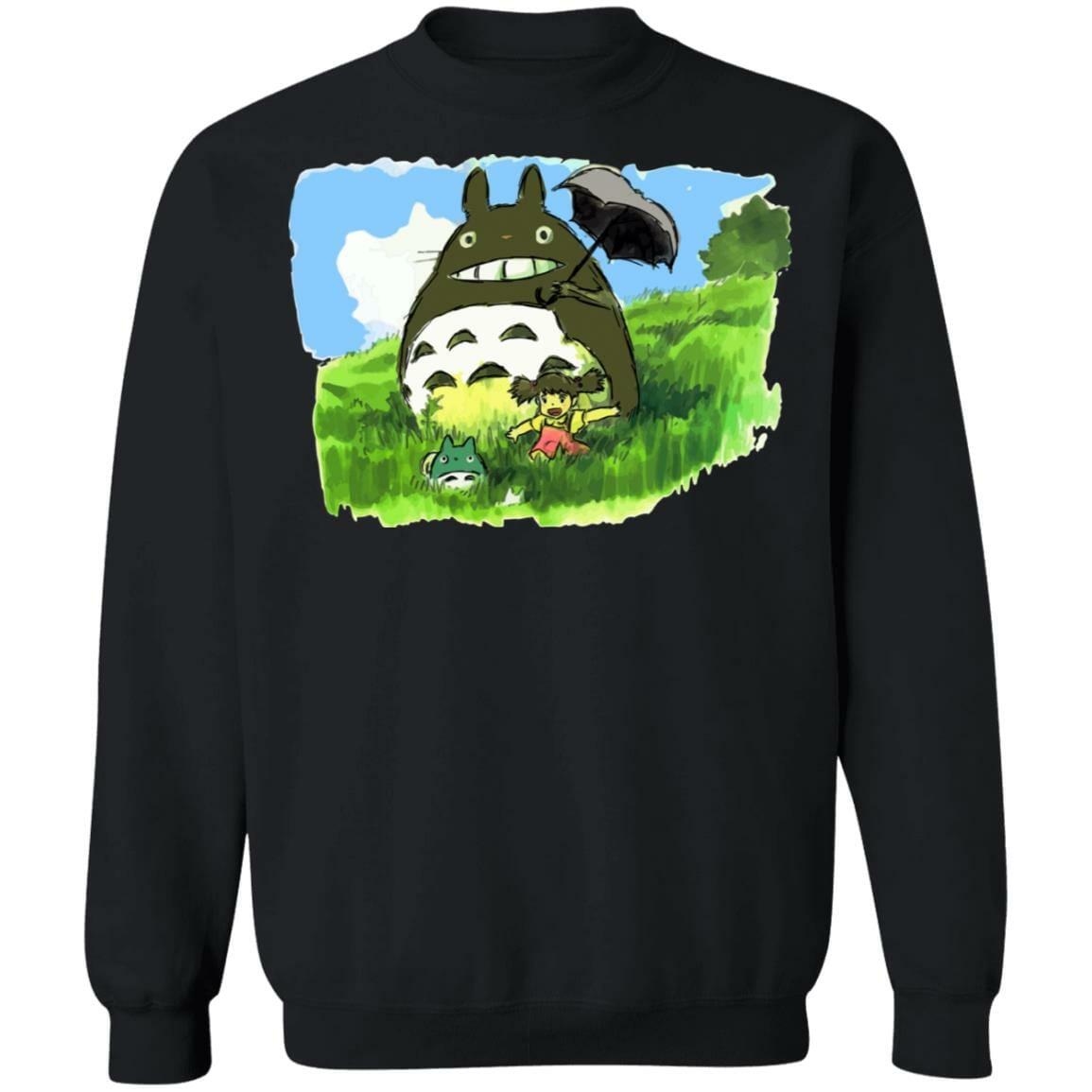 My Neighbor Totoro WaterColor Sweatshirt Unisex
