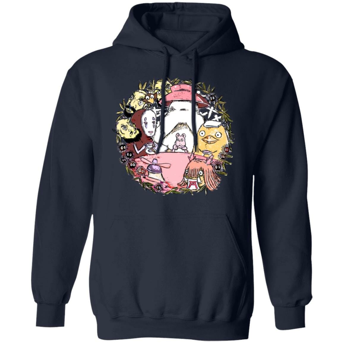 Spirited Away No Face Tea Time Hoodie Unisex