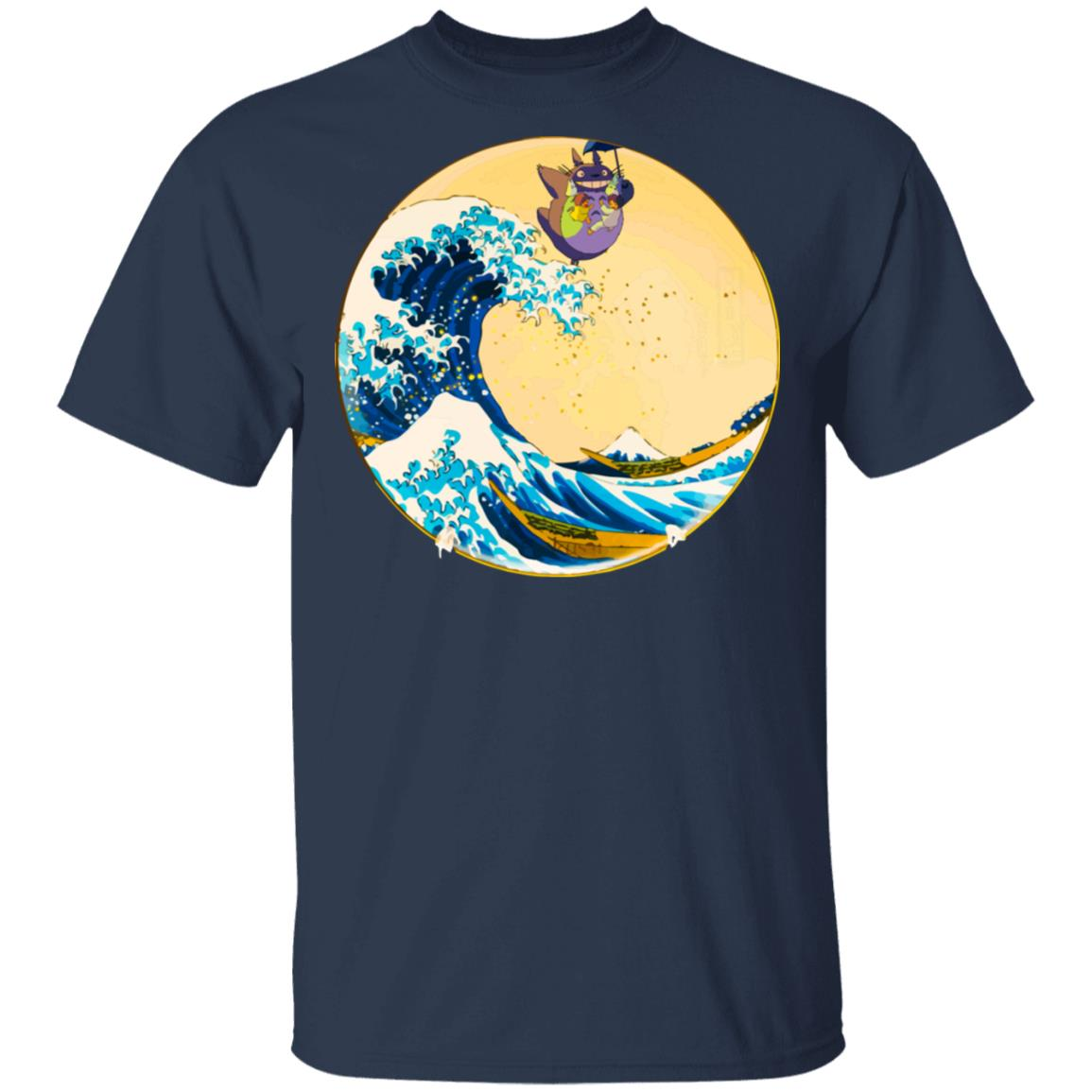Totoro On The Waves T Shirt Unisex