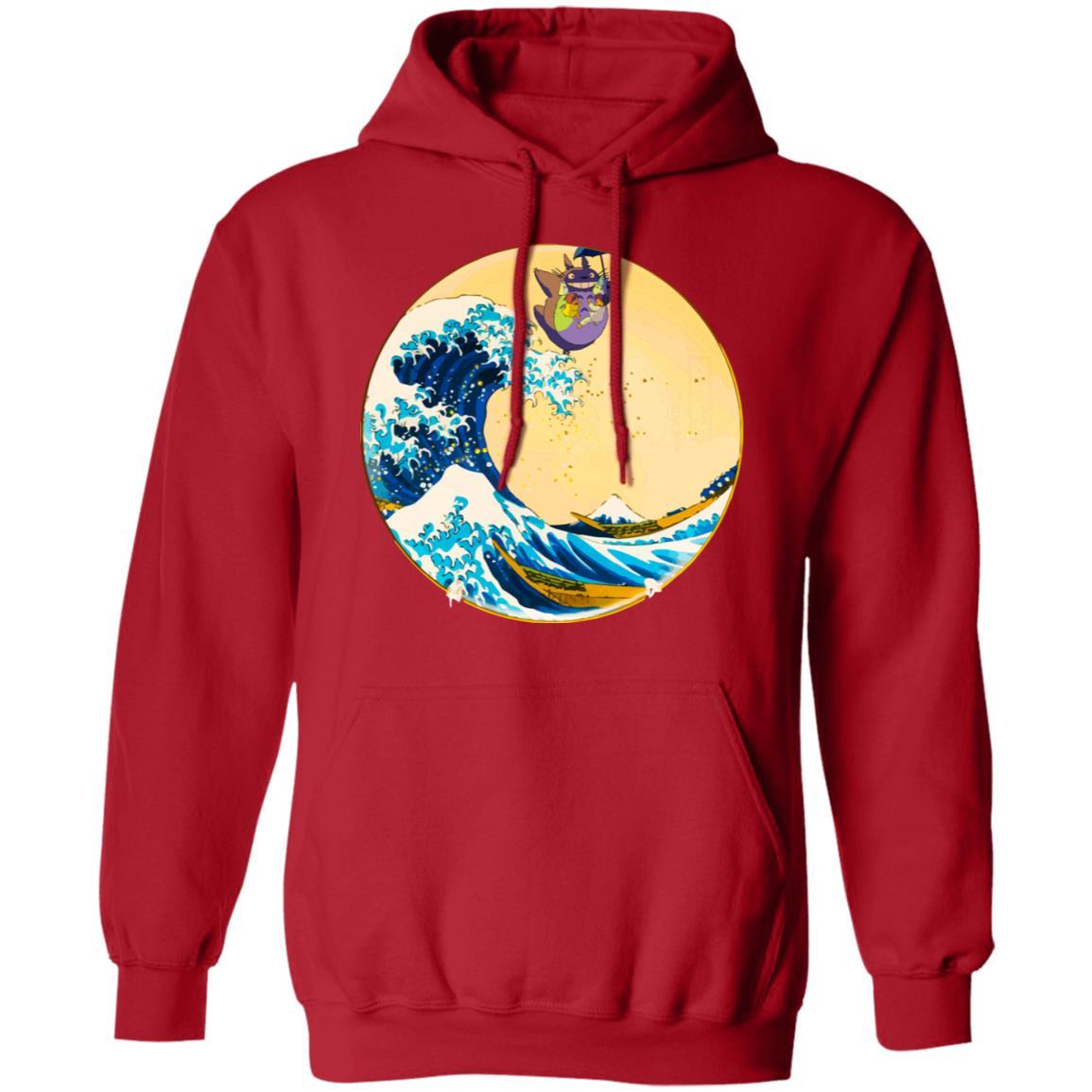 Totoro On The Waves Hoodie Unisex