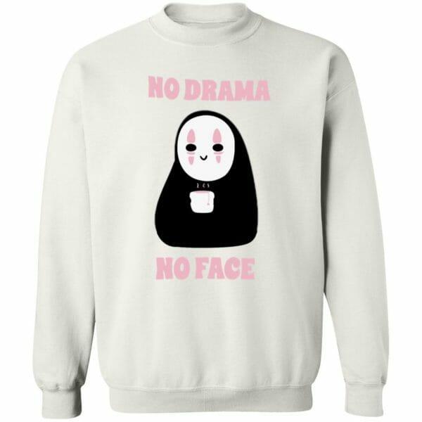 No Drama, No Face Sweatshirt Unisex