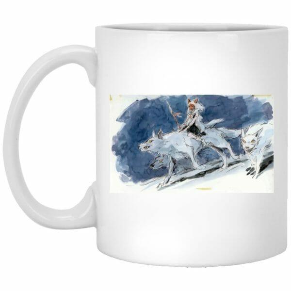 Princess Mononoke Water Color Art Mug
