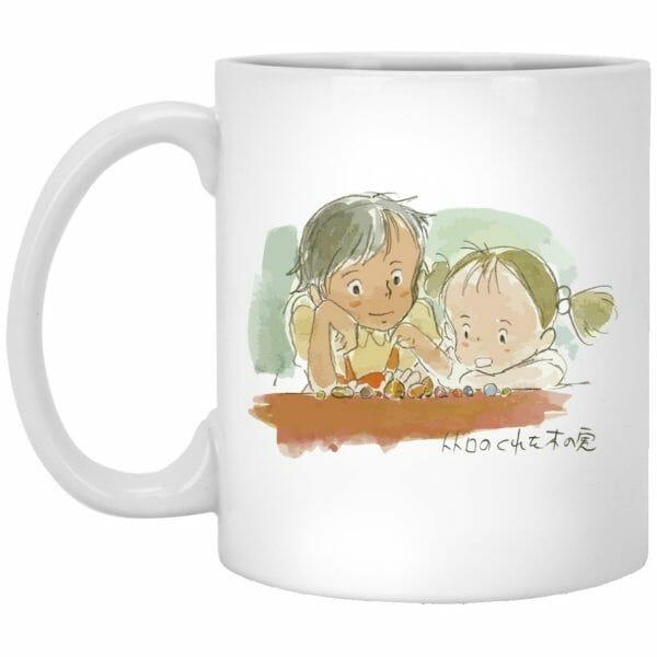 My Neighbor Totoro – Mei & Satsuki Water Color Mug