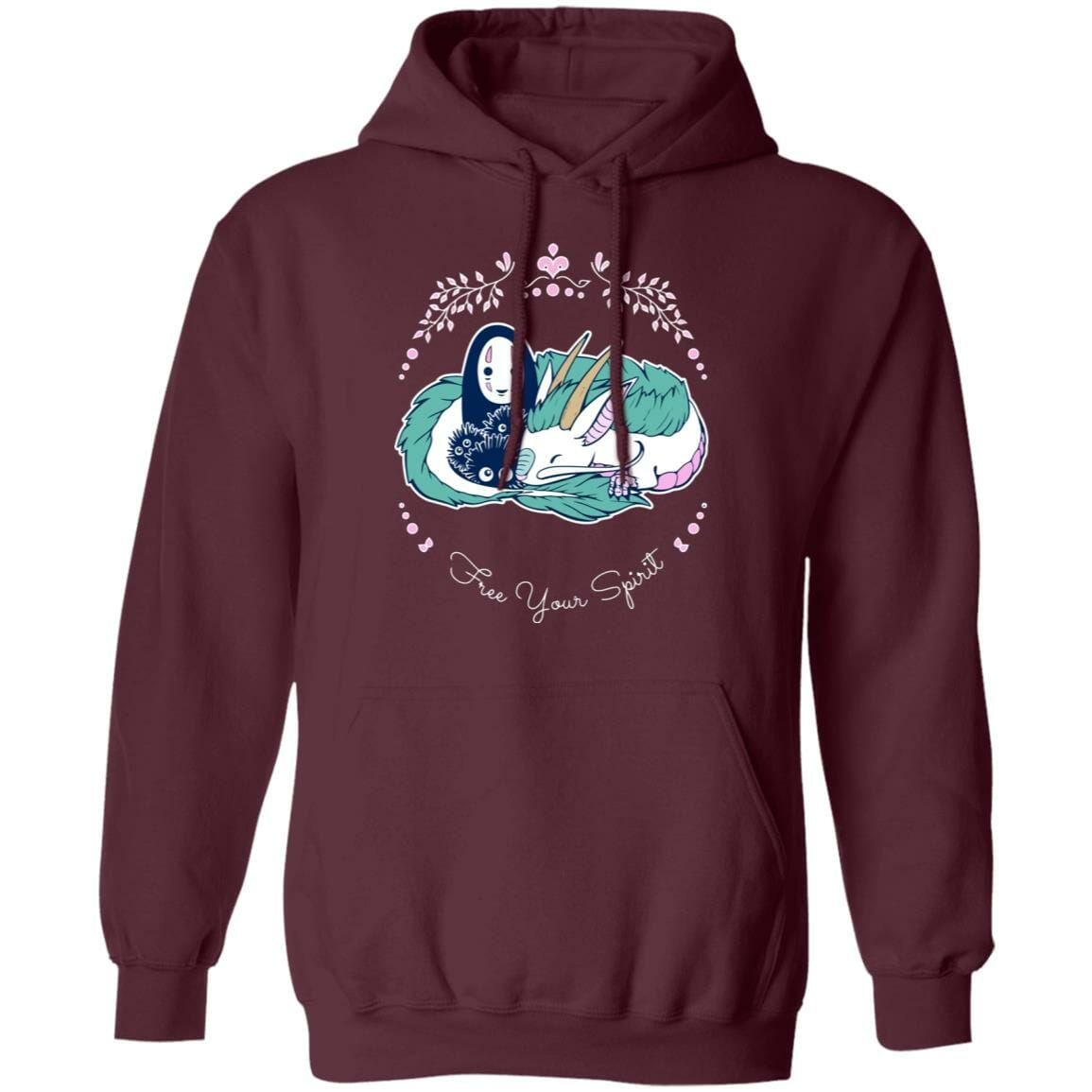 Spirited Away – No Face and Haku Dragon Hoodie