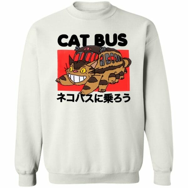 My Neighbor Totoro Cat Bus Sweatshirt