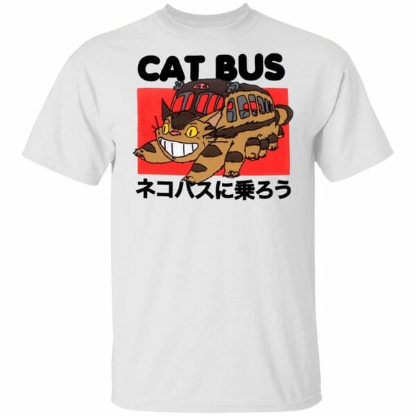 My Neighbor Totoro Cat Bus T shirt