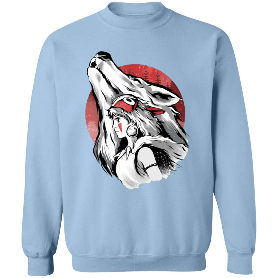 Princess Mononoke – Red Moon Sweatshirt
