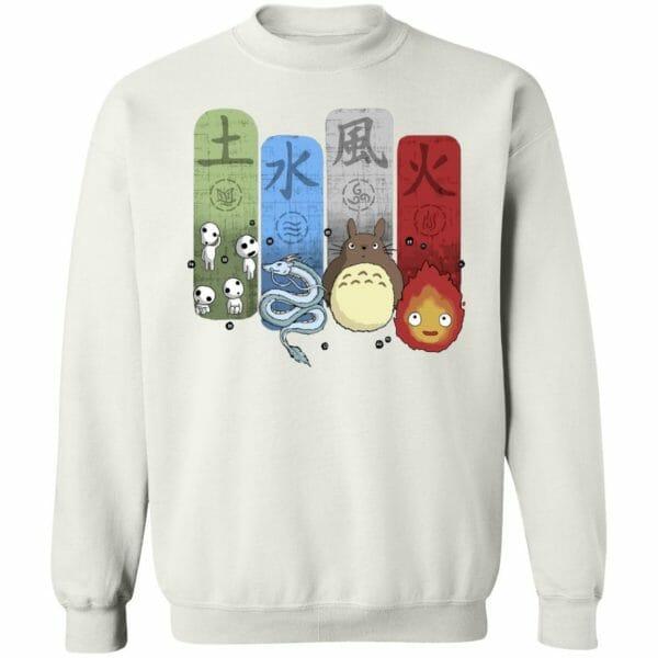 Ghibli Elemental Sweatshirt Unisex