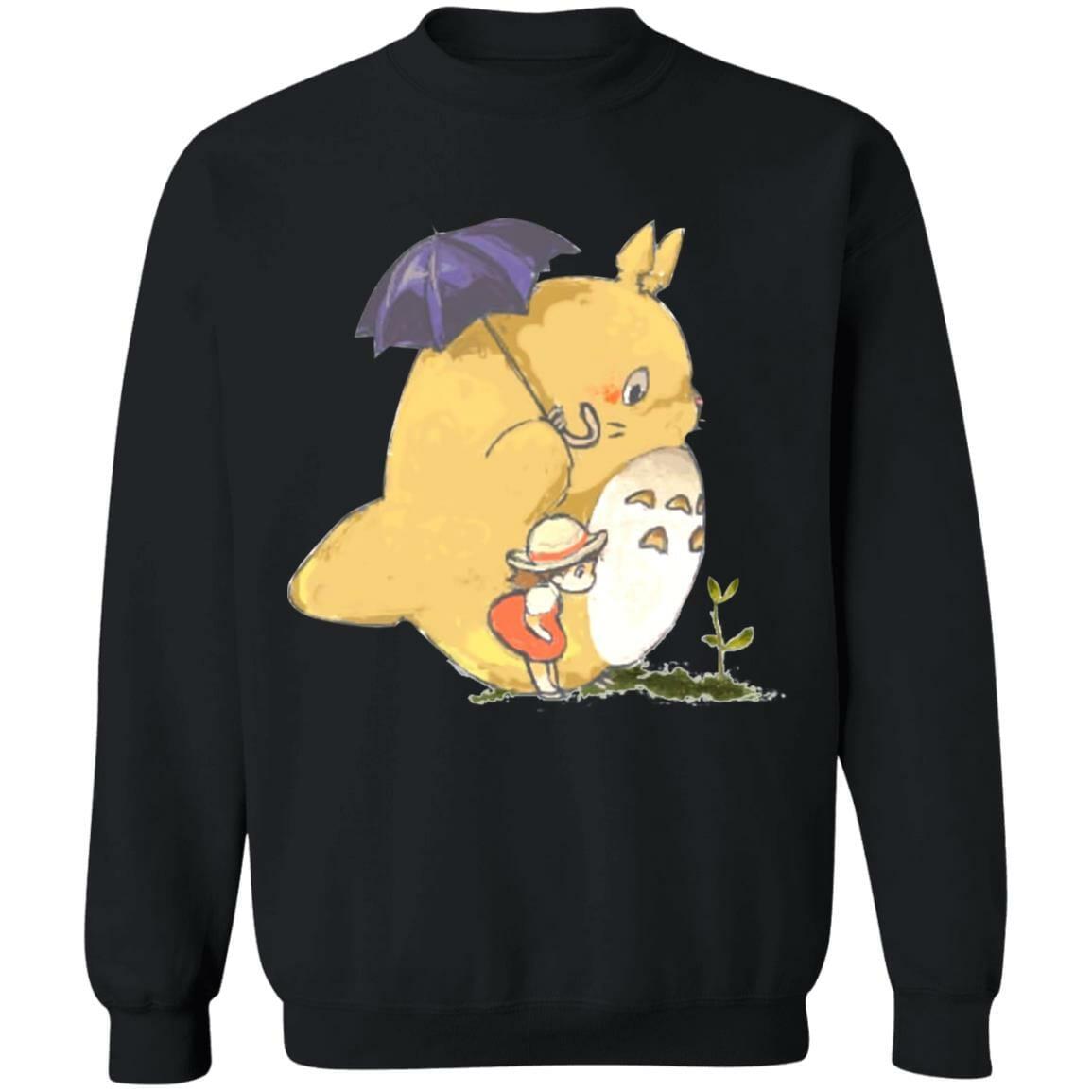 Umbrella Totoro and Mei Sweatshirt