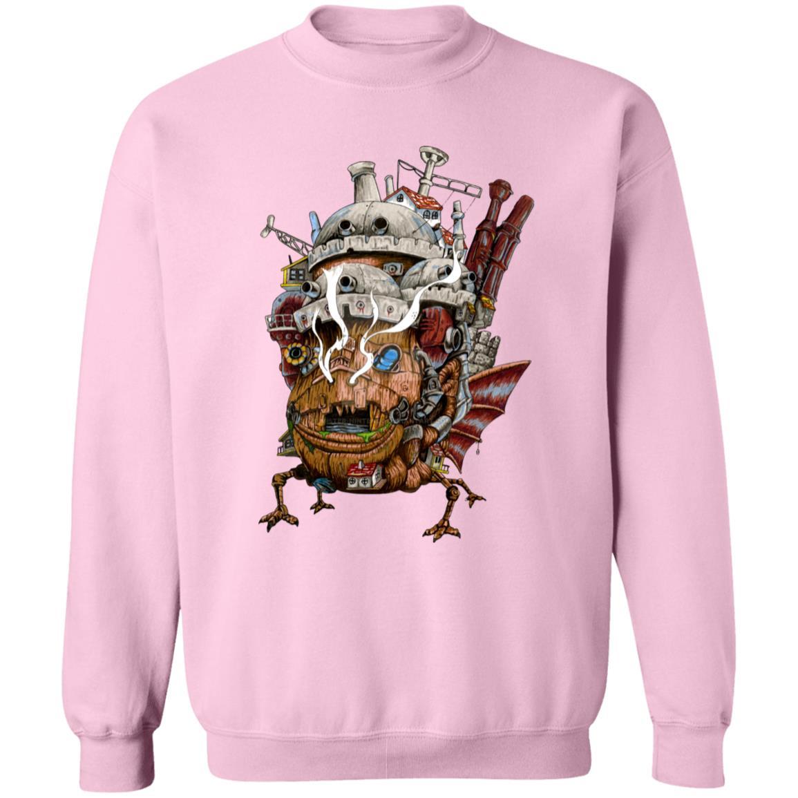 Howl's Moving Castle – Smoking Sweatshirt
