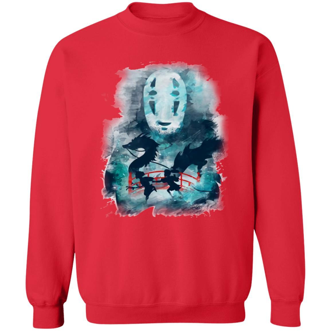 Spirited Away Water Color Sweatshirt