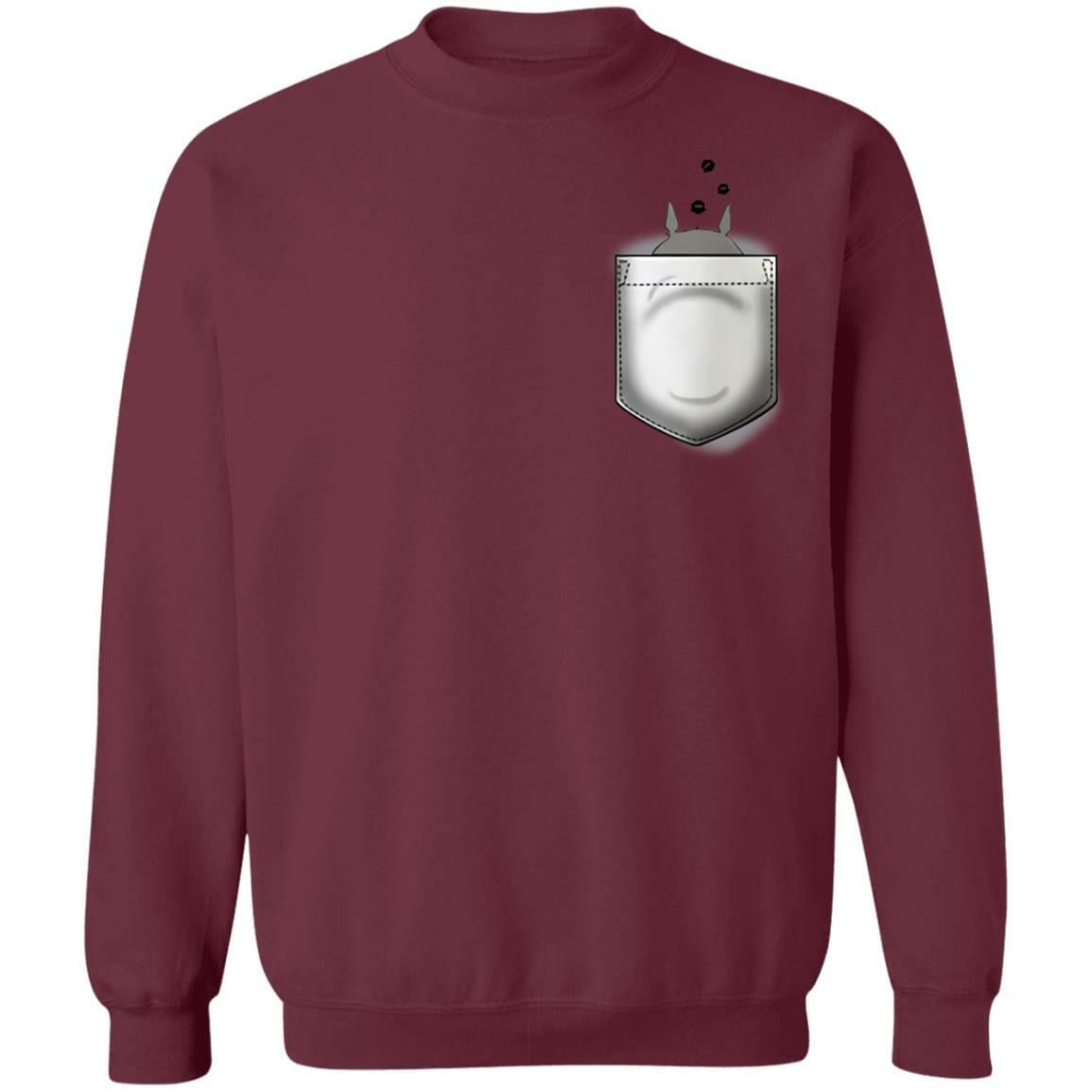 Totoro and Soot Balls in Pocket Sweatshirt