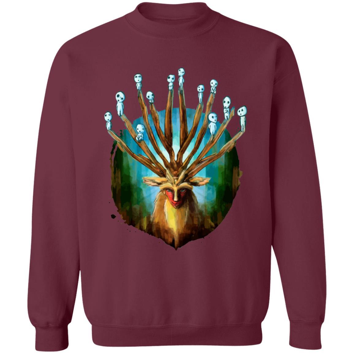 Princess Mononoke – Shishigami and The Tree Spirit Sweatshirt