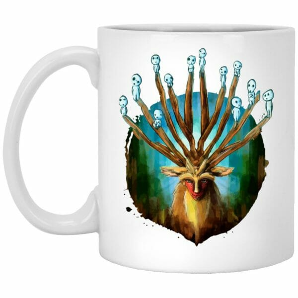 Princess Mononoke – Shishigami and The Tree Spirit Mug