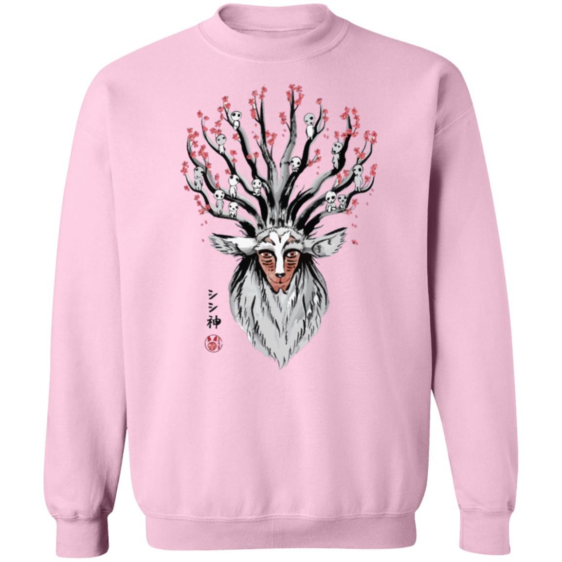 Princess Mononoke – Shishigami and Sakura Sweatshirt