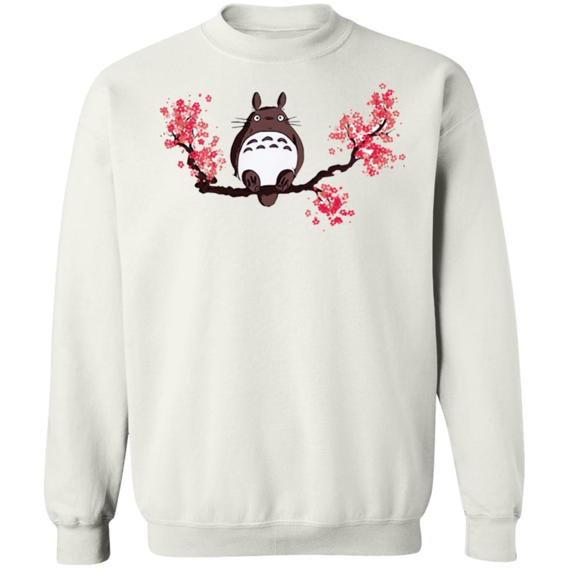 Totoro and Sakura Sweatshirt