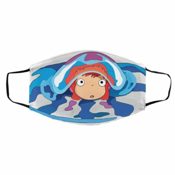 Ponyo Very First Trip Face Mask