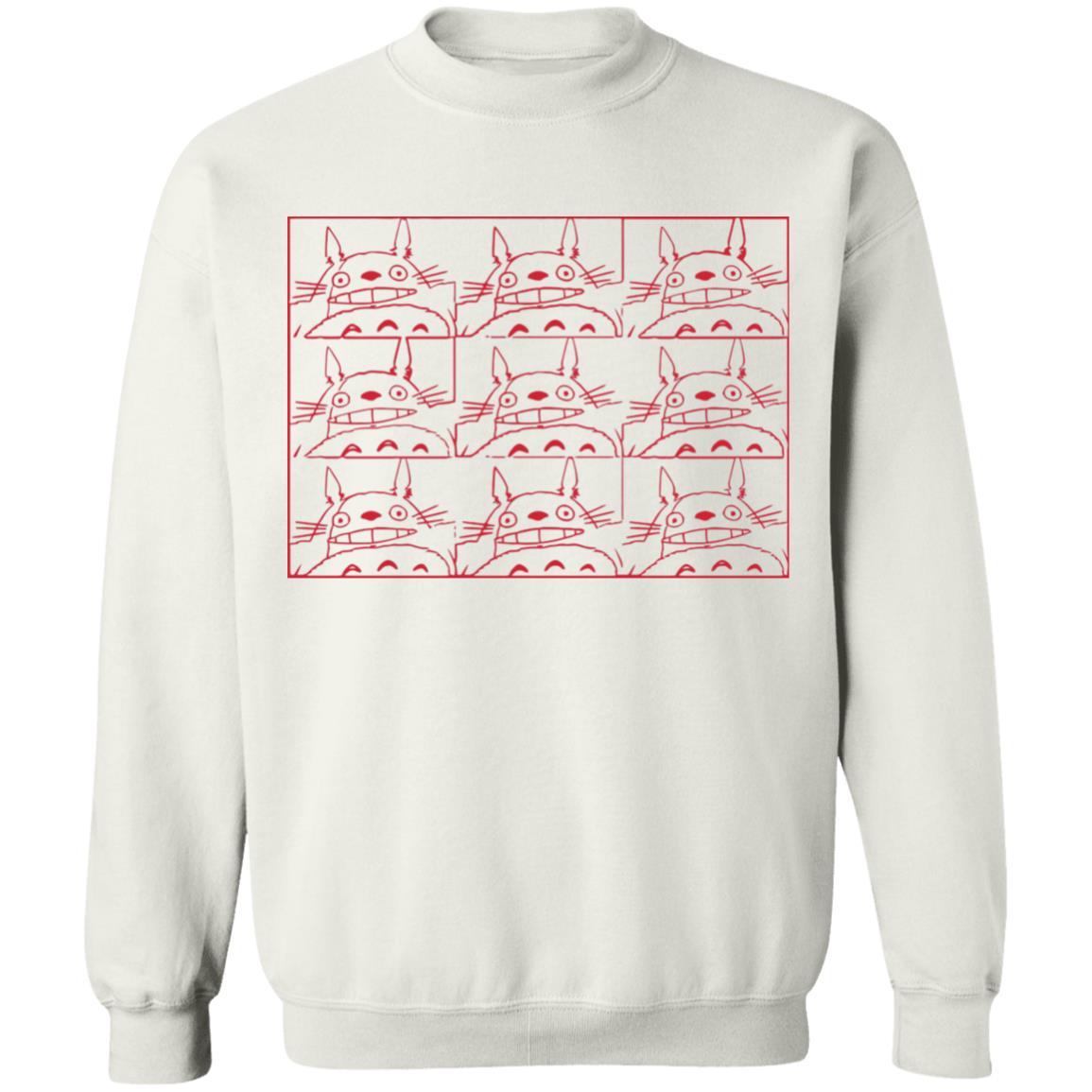 My Neighbor Totoro Neon Collage Art Sweatshirt