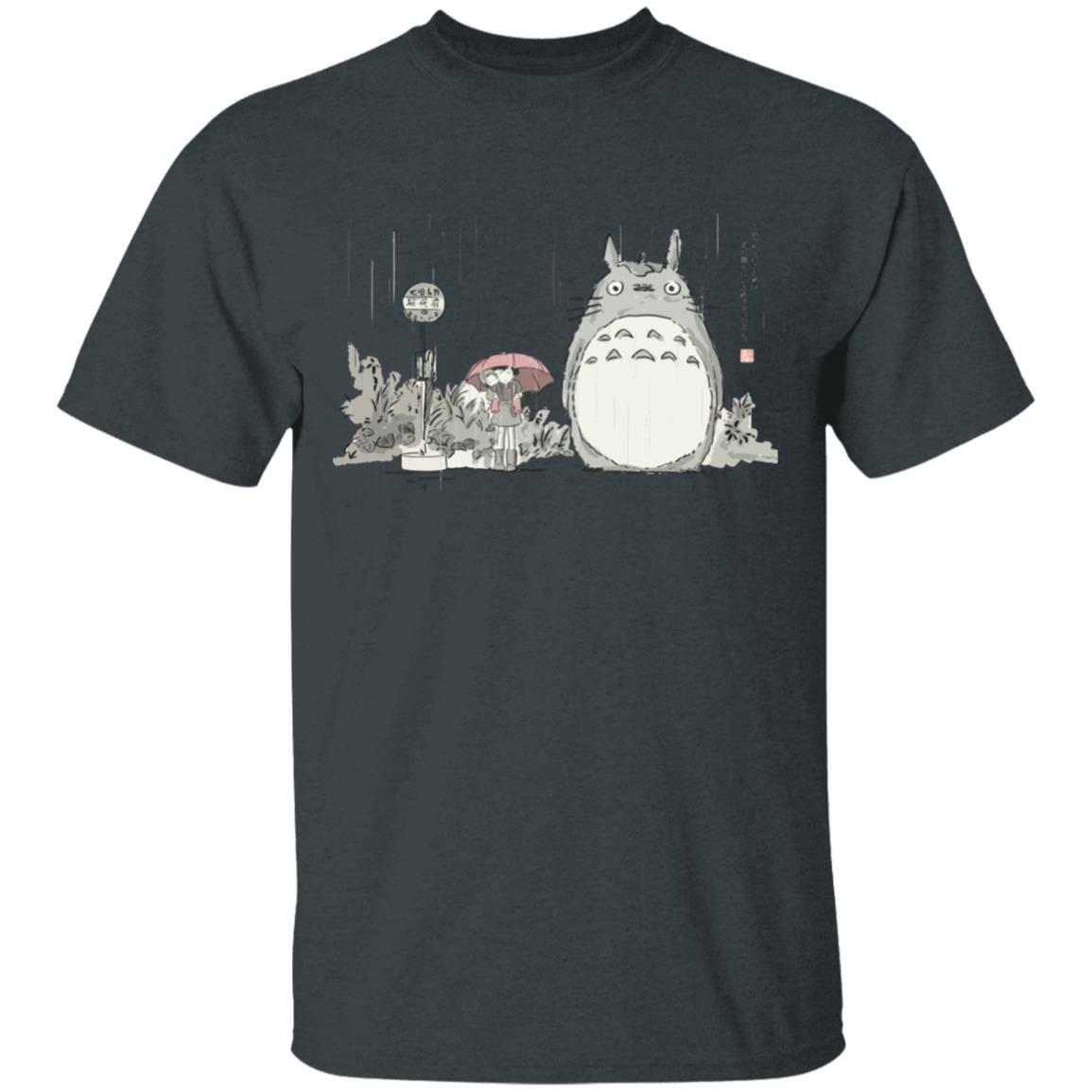 Totoro At The Bus Stop T Shirt