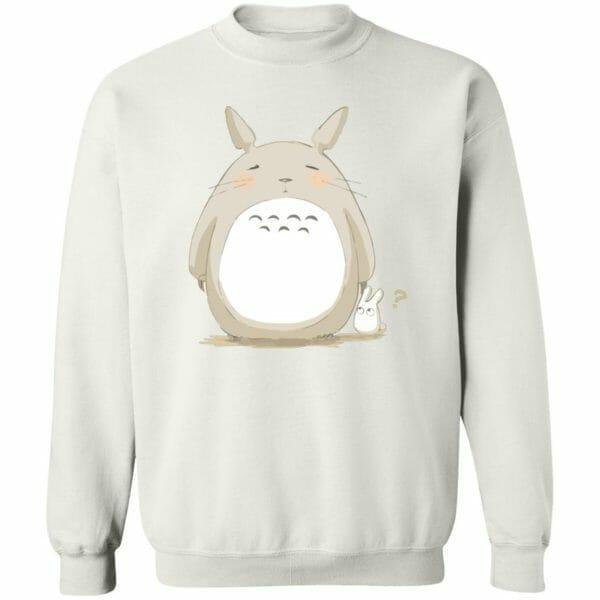 Cute Totoro Pinky Face Hoodie